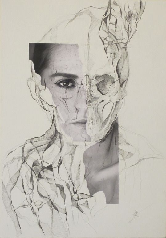 Saatchi Online Artist: sanaz vosough ghanbari; Painting, Assemblage / Collage No title ... So beautiful.