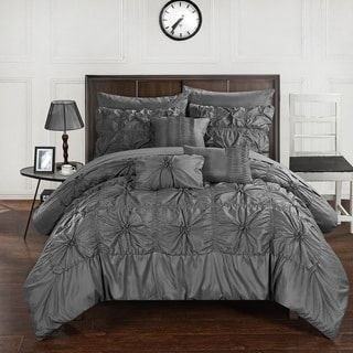 Shop for Oliver & James Siah Charcoal 10-piece Bed in a Bag Comforter Set. Free Shipping on orders over $45 at Overstock.com - Your Online Fashion Bedding Outlet Store! Get 5% in rewards with Club O! - 9999919596662
