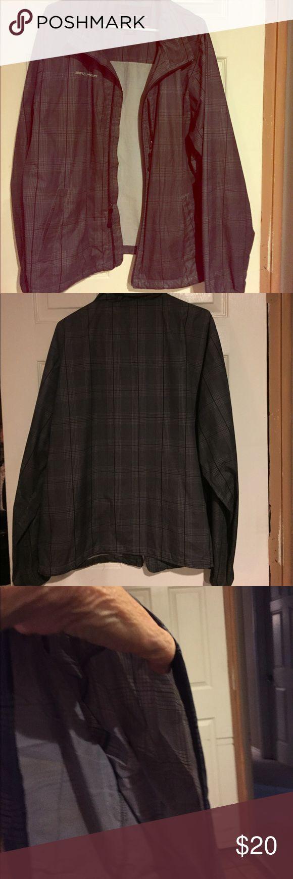 Men's raincoat Men's raincoat blazer type with hidden hood in neckline. ZeroXposur Jackets & Coats Raincoats