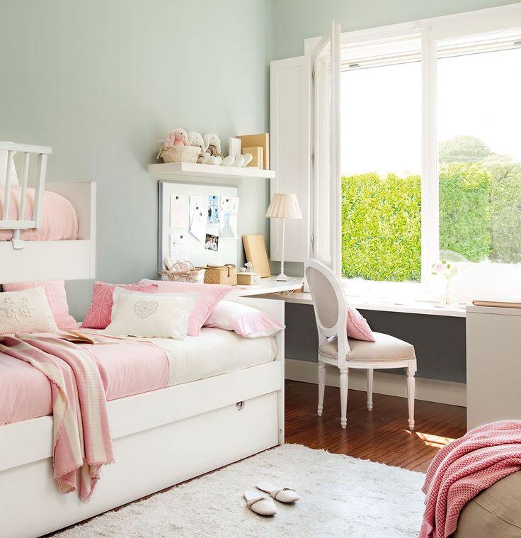 Ideaspara decorar habitacion peque a ni a reciclando - Habitacion pequena nina ...