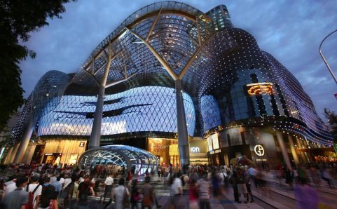 ION Orchard - Step inside one of Singapore's newest shopping centres and feast your eyes on luxury brands like Gucci, Prada and LV to the more affordable Zara. This is a shopper's paradise! (2 Orchard Turn; tel 62388228)