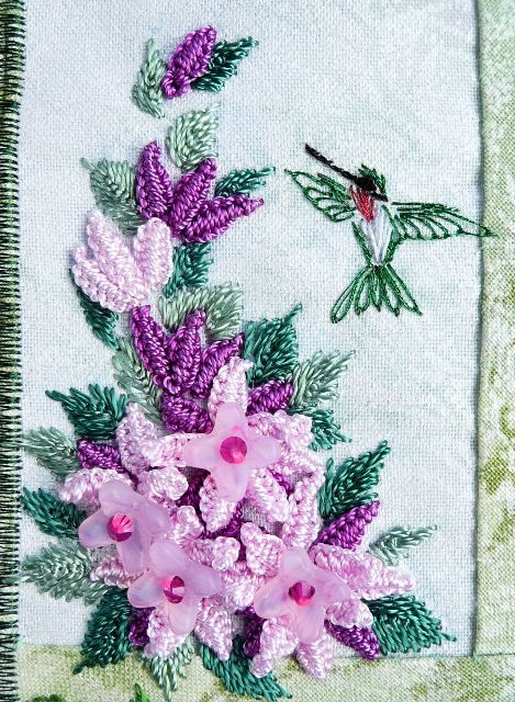 * Brazilian Embroidery By RosalieWakefield-Millefiori