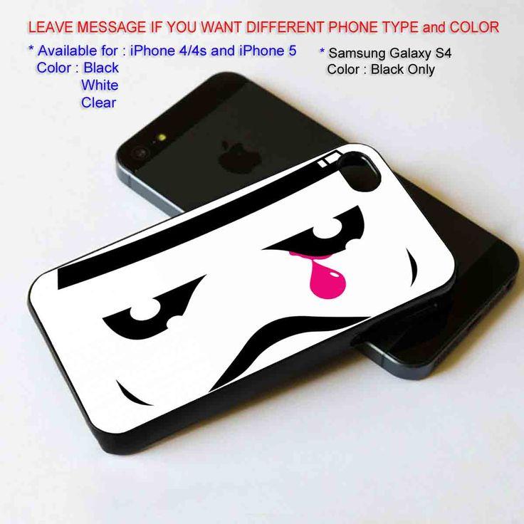 StromTrooper face, Pink Tears iPhone 5 BLACK case