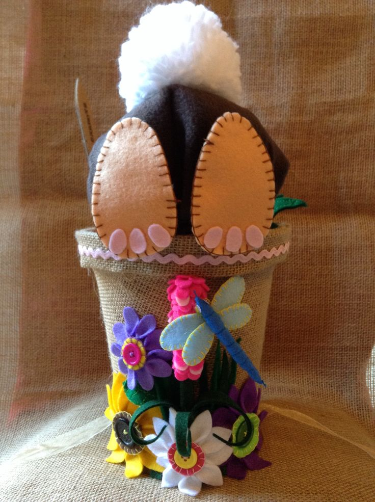 """Easter Bunny"" Easter Bonnet, already for my daughters Parade!!"