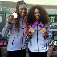 Venus Williams' Trophy Room: 3 DOUBLES GOLD MEDALS w/ Serena.   ... http://venuswilliams.com/tennis/trophy-room/