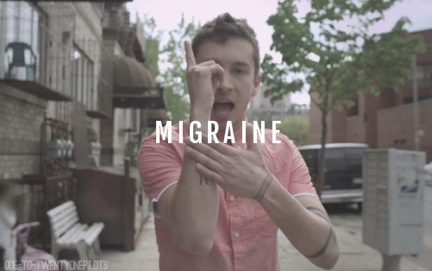 twenty one pilots migraine - photo #20