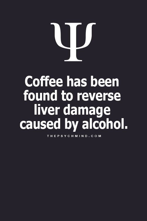 Coffee & Liver Damage
