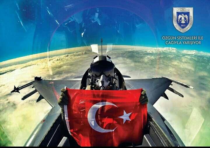 """""""İstikbal Göklerdedir"""" Hava Kuvvetlerimizin 105'inci Kuruluş Yıl Dönümü Kutlu Olsun."""