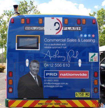PRDnationwide Wagga's Bus!