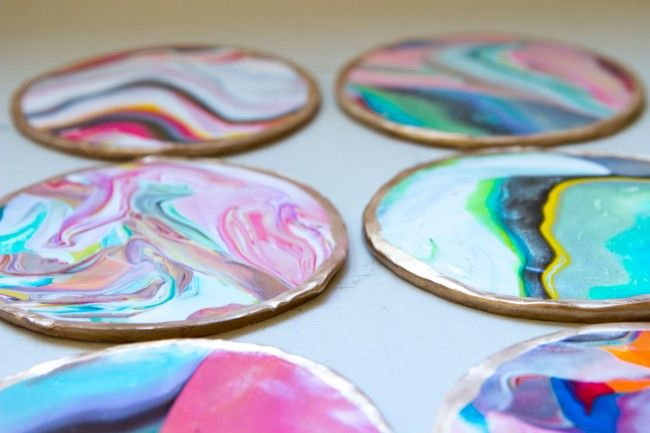 How to: Marble Coasters   Sarah Johnson