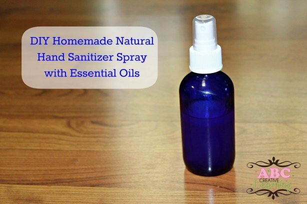 Diy Thieves Hand Sanitizer Spray Natural Hand Sanitizer Hand