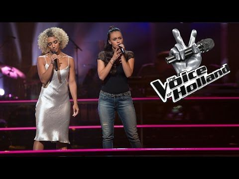 Naomi Sharon Webster vs. Neda Boin - When You Believe (The Battle | The voice of Holland 2015) - YouTube