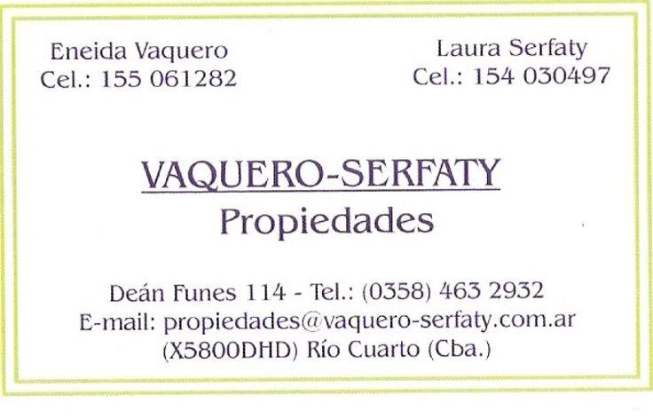 VAQUERO-SERFATY PROPIEDADES