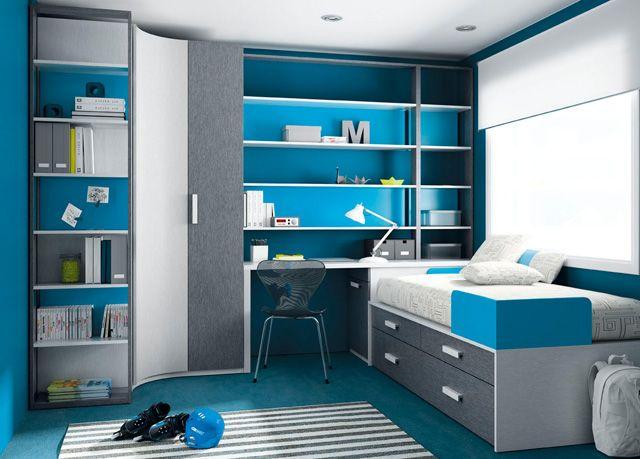 Dormitorio juvenil 069-KU2-026 de Singulárea