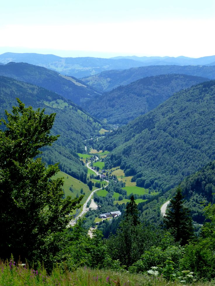 Feldberg Blick Richtung Todtnau