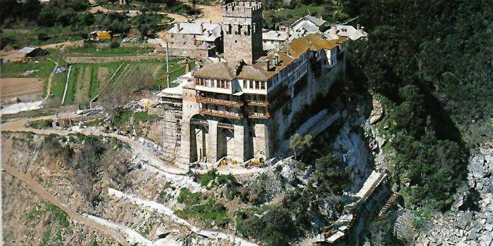 VISIT GREECE  Monastery of Stavronikita in #Athos #Macedonia #Greece
