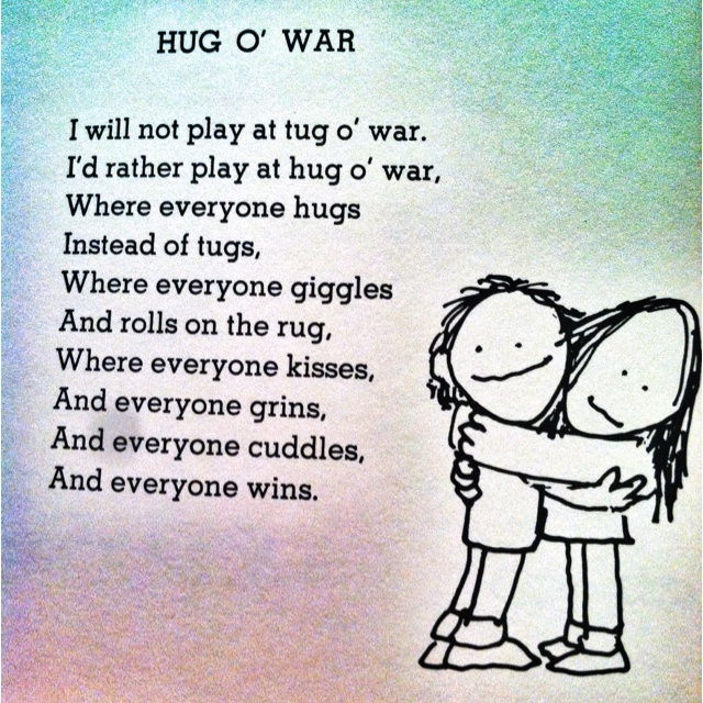 This poem is by Shel Silverstein.  I love his children's poems!