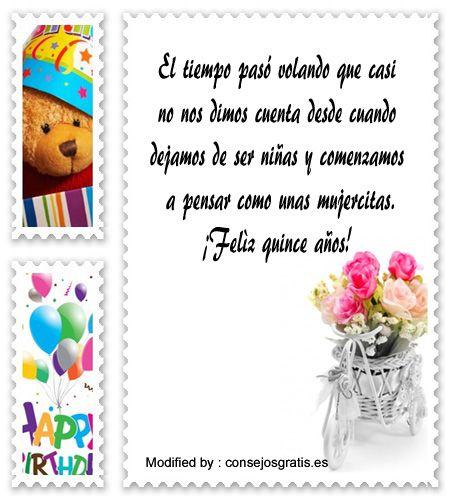 descargar frases bonitas para quinceañera,enviar mensajes para quinceañera: http://www.consejosgratis.es/ejemplo-de-discurso-para-una-quinceanera/