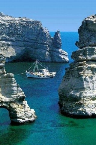 Milos, Greece. | Most Beautiful Pages