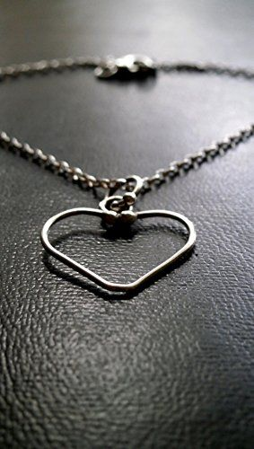 Silver Heart necklace, Silver Chain, Gift for Her, Handmade Necklace, Love & Romantic Necklace, Valentines Gift for Her, Birthday Gift Konstantis Jewelry http://www.amazon.com/dp/B01C8PO5N2/ref=cm_sw_r_pi_dp_aZd0wb0JNEK0B