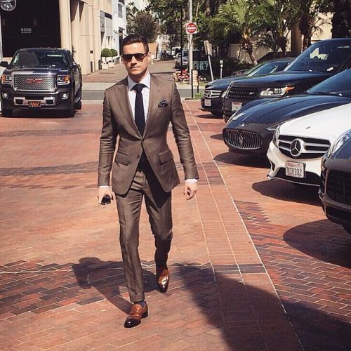 The 25  best Brown suits ideas on Pinterest | Classic mens fashion ...