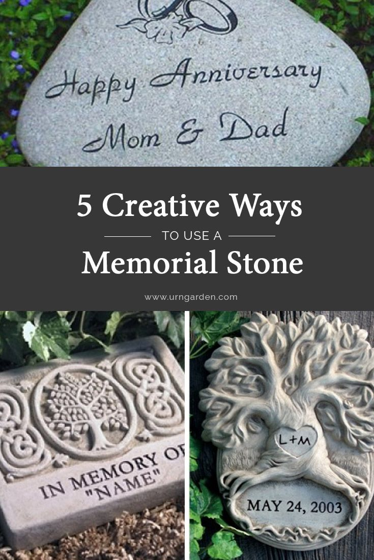 curious about your options with a memorial stone here are 5 creative ways to use
