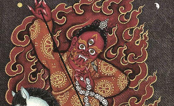 Methar of Tengyeling Monastery. #protector #Tibet #Tibetans #ancient #history #DalaiLama #Monastery #Buddhism #Buddha #practice #religion #belief #wisdom #TsemRinpoche