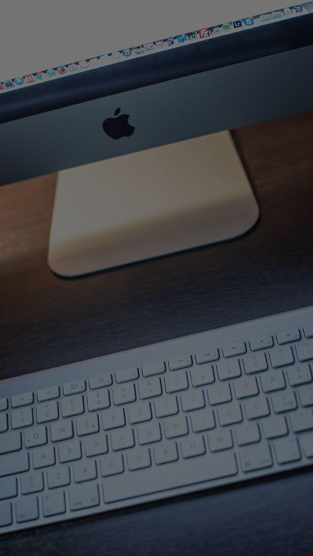 freeios8.com - my77-apple-lover-mac-monitor-city-work-art-dark - http://bit.ly/2k7AbRb - iPhone, iPad, iOS8, Parallax wallpapers