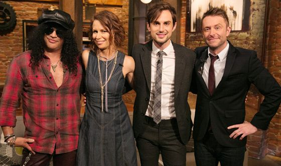 Talking Dead(AMC): Slash / Mary Lynn Rajskub / Andrew J. West(Gareth) and Host Chris Hardwick