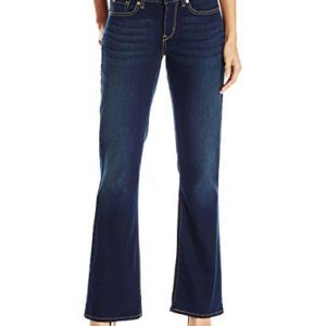 Signature by Levi Strauss & Co Women's Curvy Boot Cut Jean