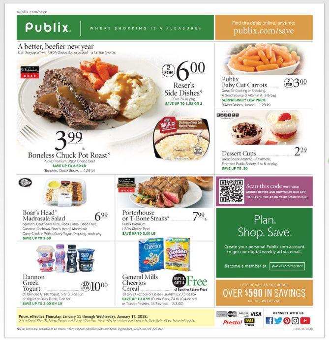 Publix Weekly Ad Jan 11-17, 2018 http://www.weeklyadspecials.com/publix-weekly-ad/