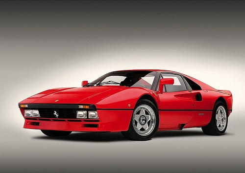 Ferrari 288 GTO. If you know your Ferrari's, you know this one.