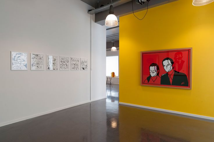 'Hybrido' exhibition at R21, Grafill, Oslo 2014. By Magnus Voll Mathiassen.