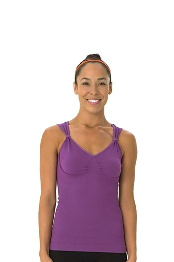 1000 images about yoga tank tops on pinterest for Shirts with built in sports bra