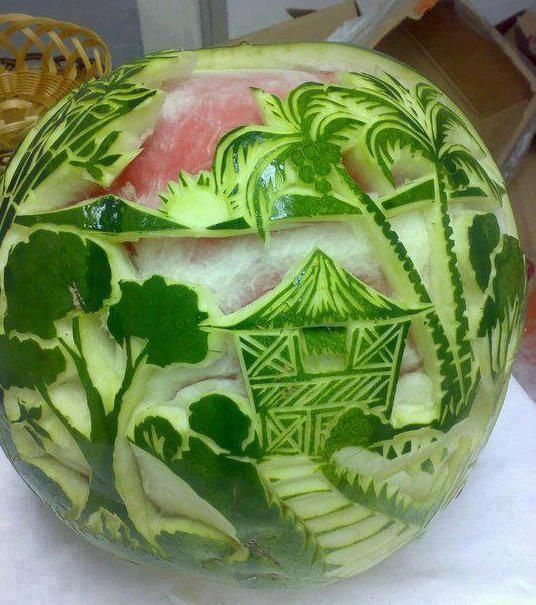 Best images about art watermelon carving on