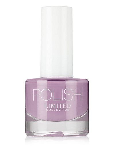 Quick Dry Nail Polish in Soft Violet | M&S
