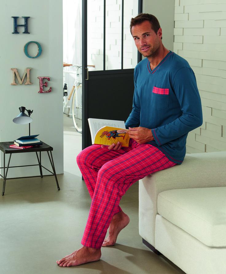 Pyjama Bleu d'Ecosse