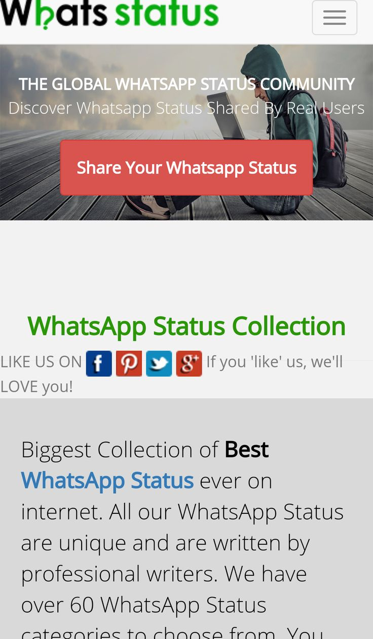 Website Review - Are you struggling for Whatsapp Status???