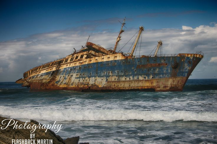 Shipwreck on the Coast of Fuerteventura by Martin Flashback - Photo 124471445 - 500px