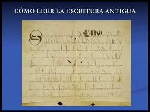 Como leer escritura antigua