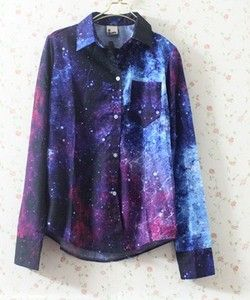 Someone surprise me with this.. I'm in love with galaxy clothes right now.