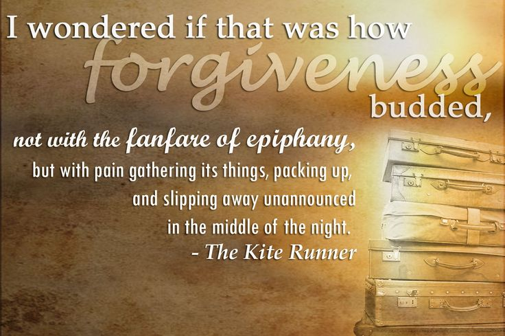 The Kite Runner Forgiveness Quotes