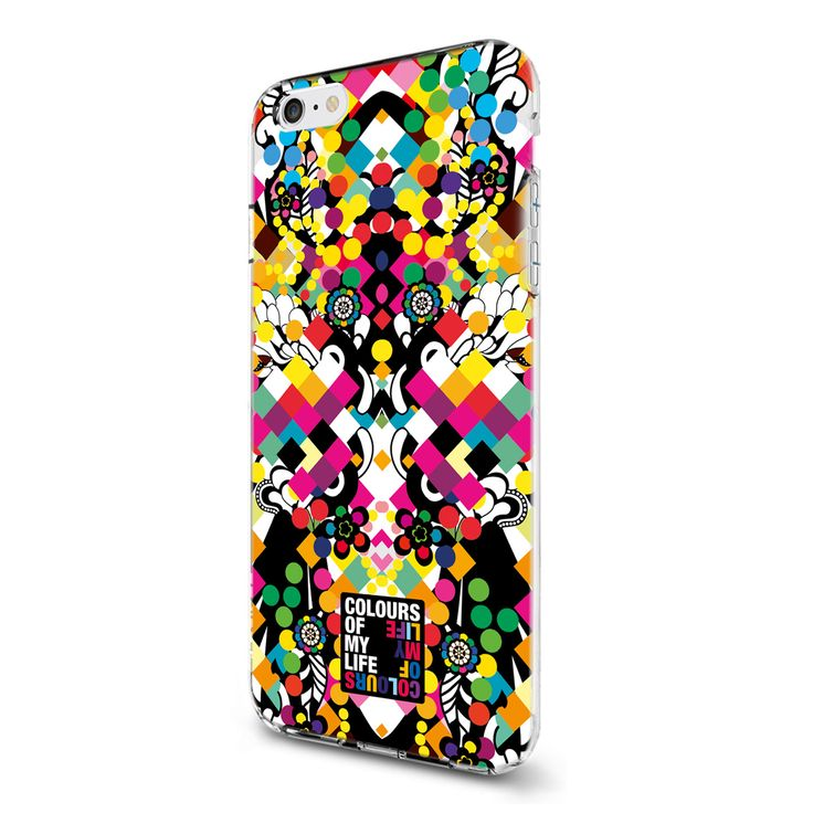 COLOURS OF MY LIFE | Mobile Case.  Designer Limited Edition; #WomenMobileCase #LuxuryMobileCase #DesignerMobileCasesUK