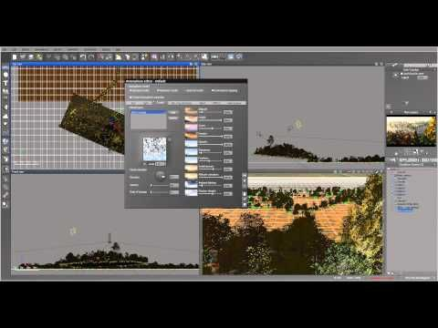 Creating Water Roads scene in Vue, part three. Epic Landscapes Six. - YouTube