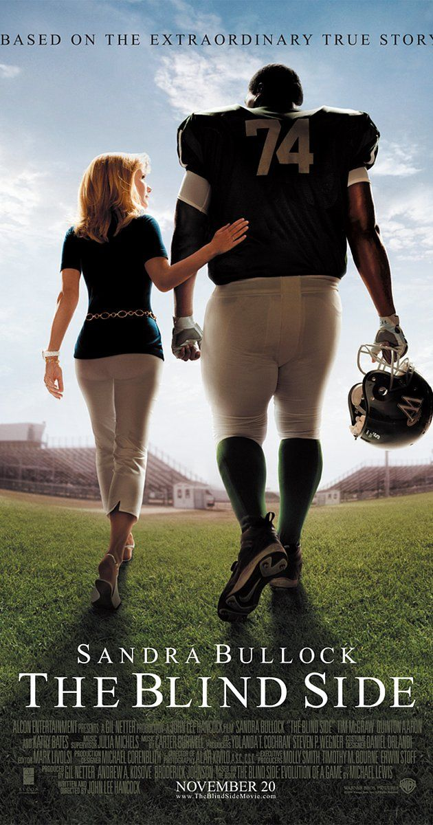 Directed by John Lee Hancock.  With Quinton Aaron, Sandra Bullock, Tim McGraw, Jae Head. The story of Michael Oher, a homeless and traumatized boy who became an All American football player and first round NFL draft pick with the help of a caring woman and her family.