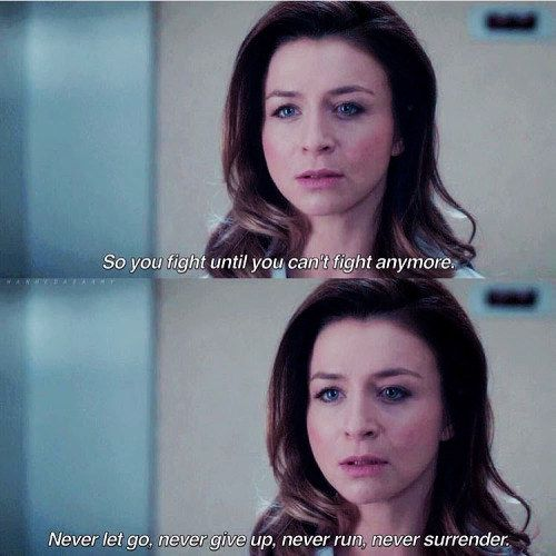 """When Amelia preached resilience. 