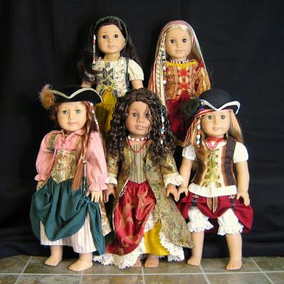 Pirate of the Caribbean - American Girl Doll style - HOW FUN!