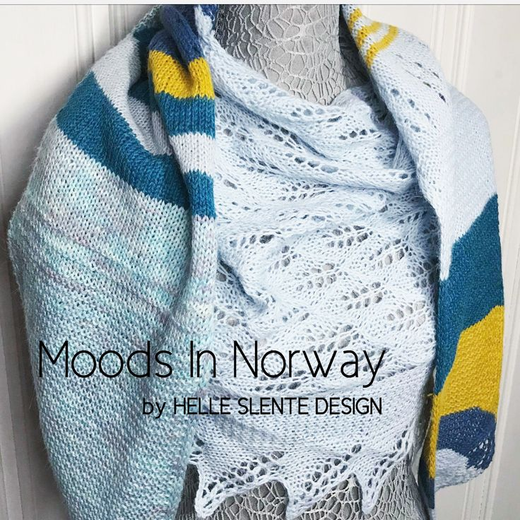 Moods In Norway by HELLE SLENTE DESIGN   lovingly knitted by Monica Solberg Vaule