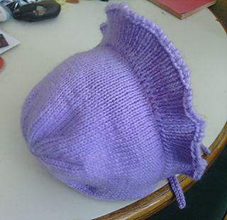 Poke Bonnet by Ellen M. Ennis Davis-- Easy to follow pattern, super cute result!