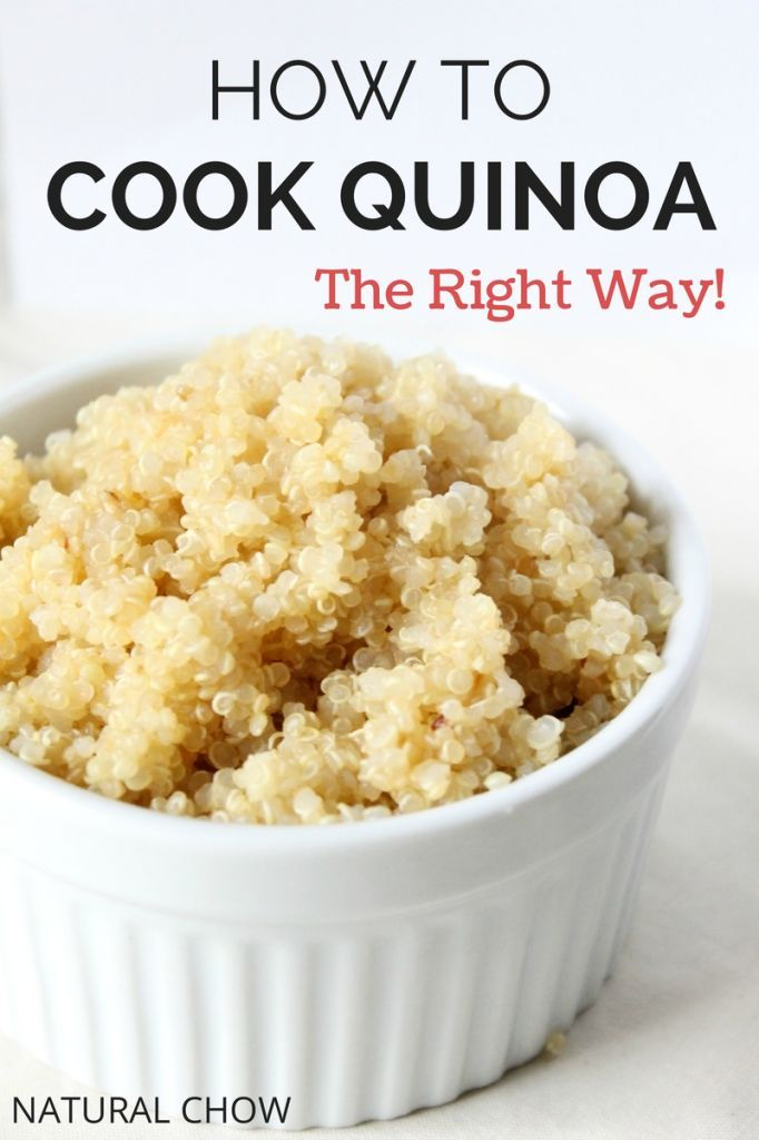 How to Cook Quinoa | Natural Chow